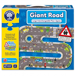 Orchard toys world map puzzle and poster pandemonium orchard toys dinosaur lotto orchard toys giant road jigsaw gumiabroncs Choice Image