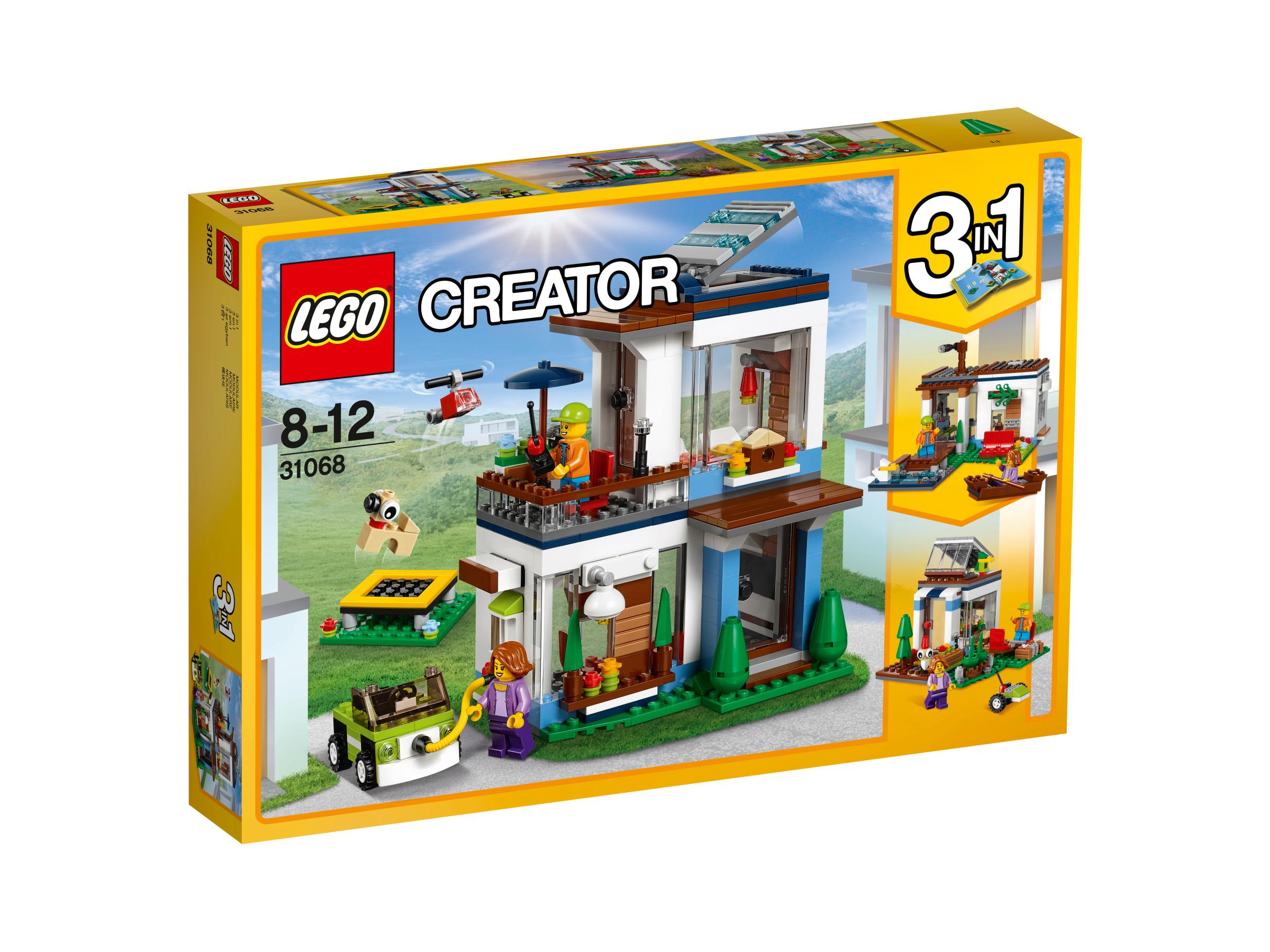 18aca4a9d5a LEGO Creator 3-in-1 - 31068 Modular Modern Home - Pandemonium