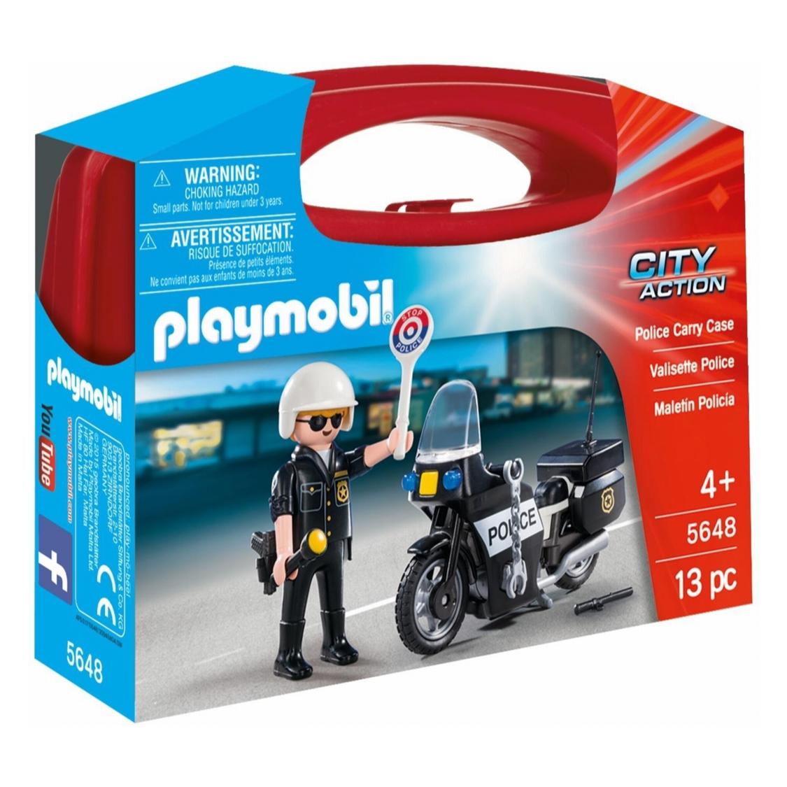 PLAYMOBIL PMB6923 PLAYMOBIL POLICE BIKE WITH LED LIGHT